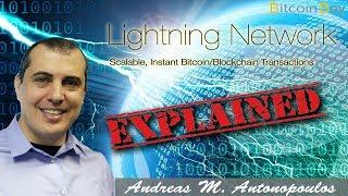 The Bitcoin Lightning Network Explained - Andreas M. Antonopoulos
