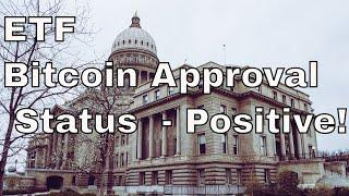 Bitcoin ETF Approval over 90% Positive! Comments on SEC!