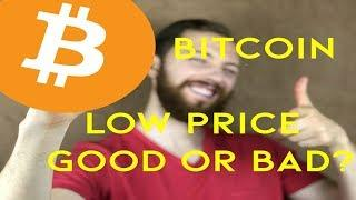 Here's Why Low Bitcoin Prices Now  Means For A More Valuable Future