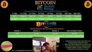 Genesis Mining Vs Bitclub Network Comparison 2018 Review Bitcoin, Ethereum, Monero, Zcash