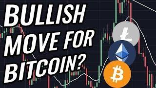 Bullish Move For Bitcoin & Crypto Markets!? BTC, ETH, BCH, LTC & Cryptocurrency News!