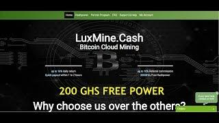NEW BITCOIN CLOUD MINING 200 GHS FREE EARN MONEY ONLINE TAMIL
