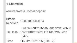 Bitcoin Gratis dari website ini, no deposit + Gratis wd + dan info whatsaround Tentang cara poin