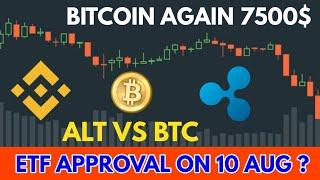 (Hindi) Crypto update - Btc vs alt | ETF approval ?