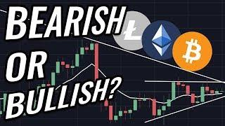 Bitcoin & Crypto Markets: Bullish Or Bearish? BTC, ETH, BCH, LTC & Cryptocurrency News!