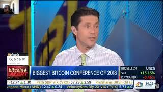 The Largest Bitcoin Conference in Manhattan | CNBC Fast Money