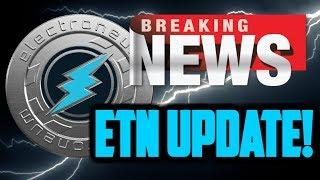 ELECTRONEUM BREAKING NEWS! ETN FORK EXPLAINED and INSTANT PAYMENT UPDATE