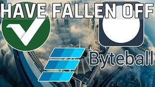 3 Cryptocurrencies That Have Fallen Off