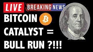 HUGE CRYPTO NEWS SPARKS BITCOIN BULL RUN! BTC & CRYPTOCURRENCY TRADING ANALYSIS