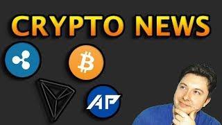 Crypto Market News - Tron, Ripple, Bitcoin and More