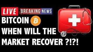 When Will Bitcoin (BTC) Recover From The Crash?! - Crypto Trading & Cryptocurrency Price News