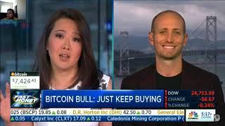 Cryptocurrency / Bitcoin Bull Market to 20k!?    CNBC Fast Money