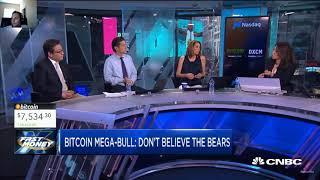 Will Bitcoin Drop under 7k again!? | CNBC Fast Money