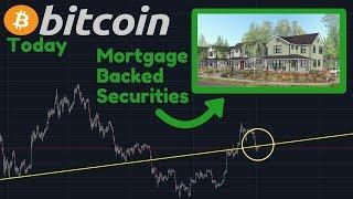 Bitcoin Falling Or Finding Support? | Mortgage Backed Securities Explained Simply