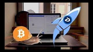 You Won't Believe How Slow Bitcoin Is! Buying DigiByte!