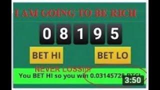 FREEBITCO WIN 2  BITCOIN per Day NO LOSS BUT MUST HAVE 100K