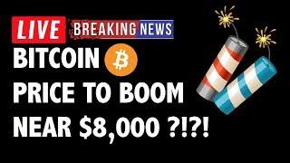 Will Bitcoin (BTC) Boom to Near 8000?! - Crypto Market Technical Analysis & Cryptocurrency News