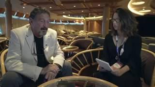 "John Mcafee interview, ""The Bitcoin bet? It's still valid"