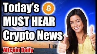 Friday Morning Cryptocurrency News!!! [Bitcoin ETF SEC, Future of Crypto, Blockchain Music Festival]
