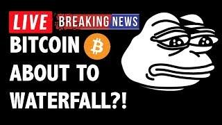 CRYPTO: BITCOIN ABOUT TO DROP? CRYPTOCURRENCY,LITECOIN,ETHEREUM,XRP RIPPLE,TRON TRX,ADA,EOS,BTC NEWS