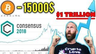 Биткоин Резкий Рост После Consensus 2018!? Прогноз Bitcoin Май 2018