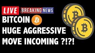 Aggressive Move Incoming for Bitcoin (BTC)?! - Crypto Trading & Cryptocurrency Price News
