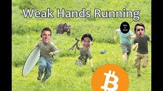 Weak Hands Running - Daily Bitcoin and Cryptocurrency News 8/15/2018