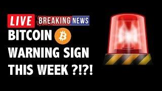 Warning Signs for Bitcoin (BTC) This Week?! - Crypto Market Technical Analysis & Cryptocurrency News