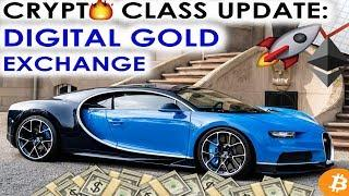 CRYPTO CLASS UPDATE: TMTG | DIGITAL GOLD EXCHANGE | SUCCESSFUL ICO ALL TOKENS SOLD
