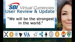 Ripple Partner SBI Group Update, User Comments SBIVC TRADE Cryptocurrency Exchange, Adding ETH!