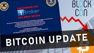 1Broker SEC SHUTDOWN!!! | Bitcoin Update