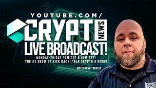 Bitcoin And Cryptocurrency Live Stream! Market Tanks! STAY OUT THE WAY!