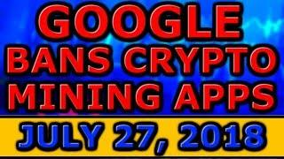 GOOGLE BANS Crypto MINING APPS! SEC Commissioner DISSENTS Bitcoin ETF Rejection! Mithril VOTE CHEAT!