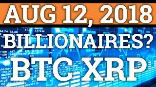 BULLS COMING? BILLIONAIRES INVESTING IN CRYPTOCURRENCY? RIPPLE XRP? BITCOIN BTC PRICE + NEWS 2018