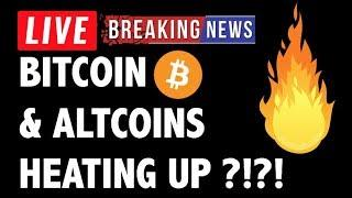 Bitcoin (BTC) & Altcoins Finally Heating Up?! - Crypto Trading & Cryptocurrency Price News