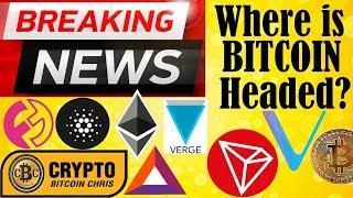 """Bitcoin to $5k????? Vitalik """"Blockchain Sucks!""""???? Tron Privacy Coin????? Iran: BTC $24k!"""