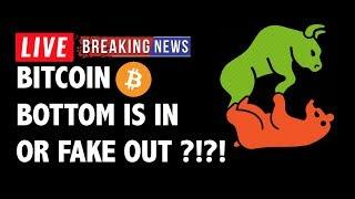Bottom or Fake Out for Bitcoin (BTC)?! - Crypto Market Technical Analysis & Cryptocurrency News