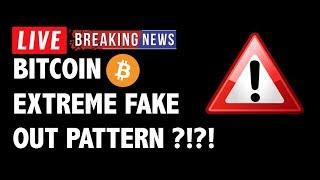 Extreme Fakeout Pattern to Hit Bitcoin (BTC)?-Crypto Market Technical Analysis & Cryptocurrency News