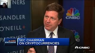 SEC Chair  Supports the Value of Cryptocurrency / Bitcoin ETF  | CNBC Fast Money