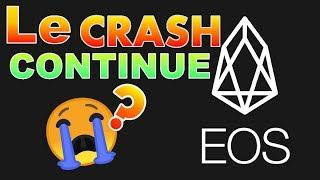 EOS Le crash continue !!!? eos analyse technique crypto monnaie BITCOIN