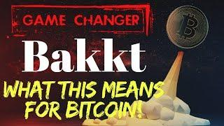 GAME CHANGER? What BAKKT Means for BITCOIN - Today's Crypto News