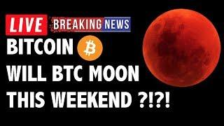 Will Bitcoin (BTC) Moon This Weekend?! - Crypto Market Technical Analysis & Cryptocurrency News