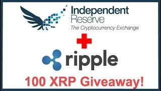 Independent Reserve Currency Exchange to List Ripple XRP! - 100 XRP Giveaway 20,000 Subs!