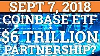 COINBASE ETF + $6 TRILLION ASSET MANAGER? BITCOIN PRICE FALLING GOOD? CRYPTOCURRENCY NEWS 2018