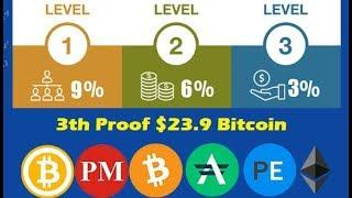 3th Proof $23.9 Bitcoin with Minejem Mining | Earn Bitcoins