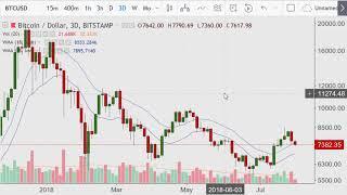 Crypto Day Morning {Bitcoin Charts} 2018.08.03