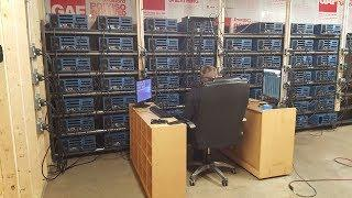 500 GPU Cryptocurrency Mining Center - Walkthrough