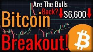Bitcoin Tests $6,600 - Huge Bitcoin Breakout Coming??