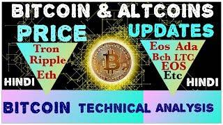 Bitcoin Btc Altcoin latest price update hindi Bitcoin technical anaylsis live chart