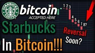 Bitcoin Recovery Imminent! Starbucks In Bitcoin! Massive Adoption News!